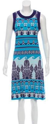 Tory Burch Abstract Knee-Length Dress