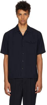 Ami Alexandre Mattiussi Navy Short Sleeve Shirt