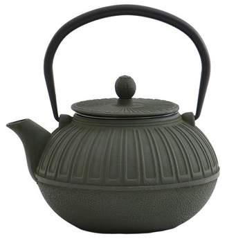 Berghoff Cast Iron Green Teapot