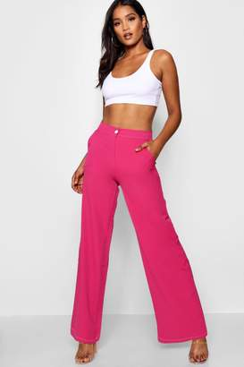 ec9c0af5ae boohoo Pink Women's Wide Leg Pants on Sale - ShopStyle