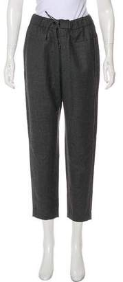 Brunello Cucinelli High-Rise Straight-Leg Pants