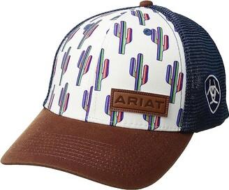 Ariat Multi Cactus Snapback Cap