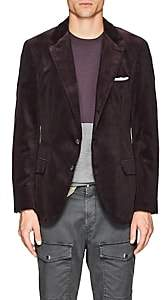 Brunello Cucinelli Men's Cotton Corduroy Three-Button Sportcoat-Purple