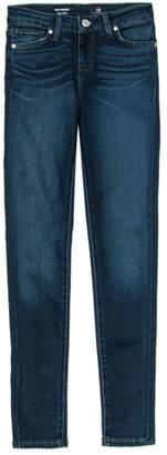 AG Jeans Twiggy Imperial Blue Jetsetter Straight-Leg Denim Jeans, Size 4-6X