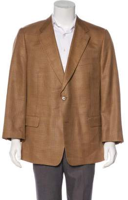 Burberry Wool Button-Up Blazer