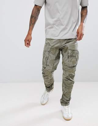 G Star G-Star BeRAW Rovic Qane 3D Tapered Cargo Pants