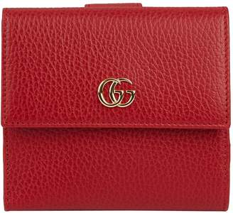 Gucci Petite Marmont Fold-Over Wallet
