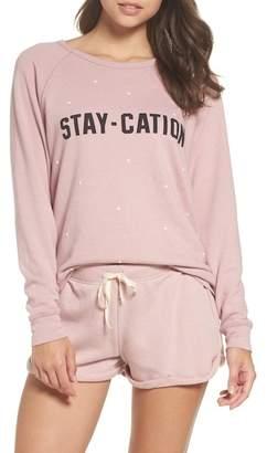 Junk Food Clothing Stay-Cation Sweatshirt
