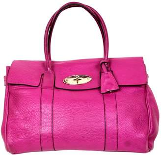 Mulberry Bayswater tote Pink Leather Handbag