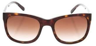 Tory Burch Tortoiseshell Logo Sunglasses