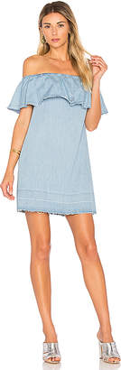 7 For All Mankind Off Shoulder Dress $199 thestylecure.com