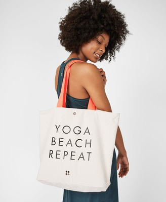 Sweaty Betty Canvas Beach Bag