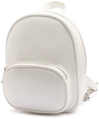 fc8921cfa310 Forever 21 Mini Faux Leather Backpack