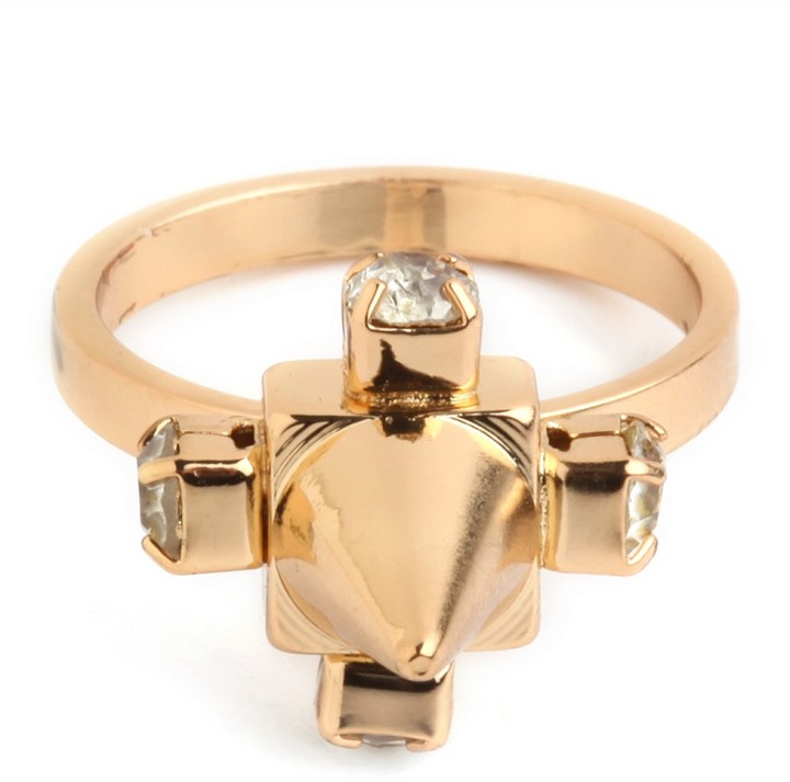BaubleBar Gold Cone Ring