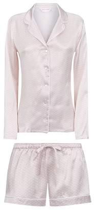 Derek Rose Brindisi Silk Shorts Pyjama Set