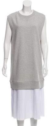 MM6 MAISON MARGIELA Midi Layered Pleated Dress