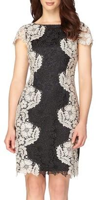 Women's Tahari Lace Sheath Dress $188 thestylecure.com