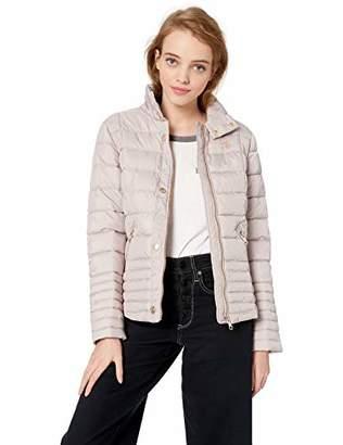 U.S. Polo Assn. Women's Moto Puffer Jacket