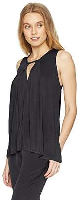 Lucky Brand Women's Cutout Tunic TOP