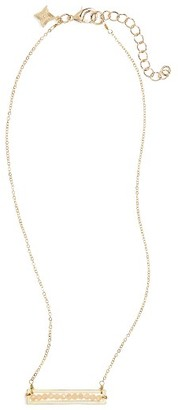 Women's Panacea Crystal Bar Necklace $12 thestylecure.com