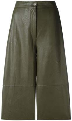 MM6 MAISON MARGIELA panelled cropped trousers