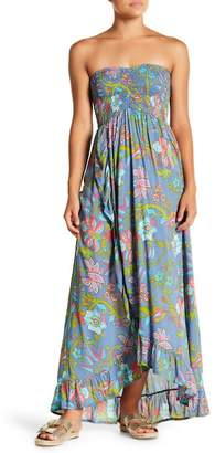 Tiare Hawaii Conrad Strapless Maxi Dress