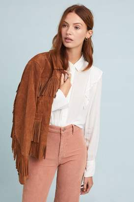Cloth & Stone Dorin Ruffled Shirt