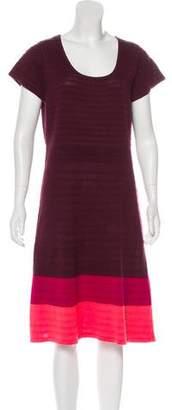 Isaac Mizrahi Knit Midi Dress