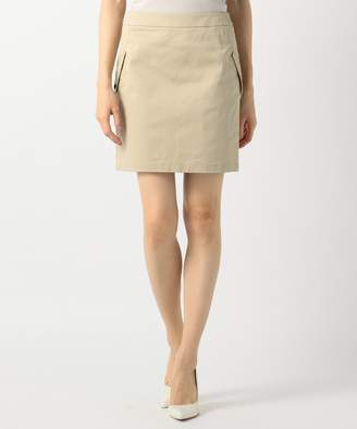Calvin Klein (カルバン クライン) - CK CALVIN KLEIN WOMEN 【大人気チノシリーズ】チノツイルミニ スカート(C)FDB