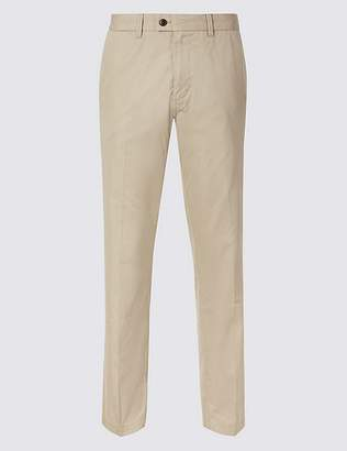 Marks and Spencer Big & Tall Regular Fit Cotton Rich Chinos