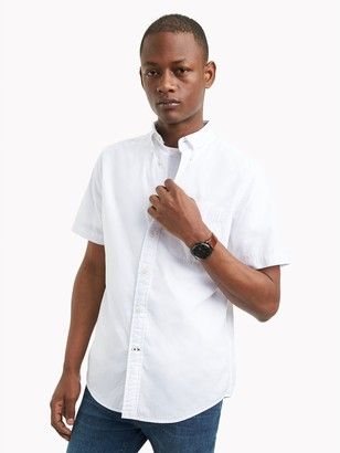 Tommy Hilfiger Cotton Poplin Short-Sleeve Shirt