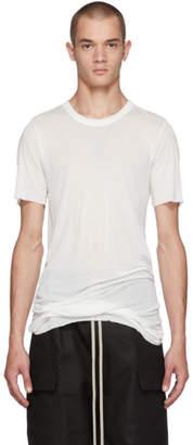 Rick Owens Off-White Basic T-Shirt