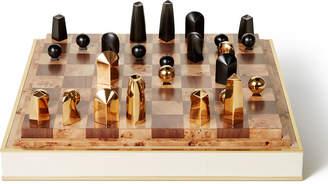 AERIN Shagreen Chess Set