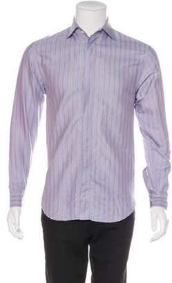 Armani Collezioni Printed Button-Up Shirt