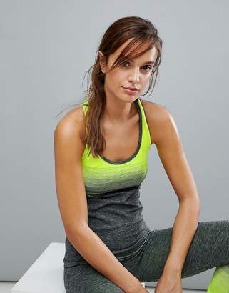 New Look Neon Ombre Seam Free Tank