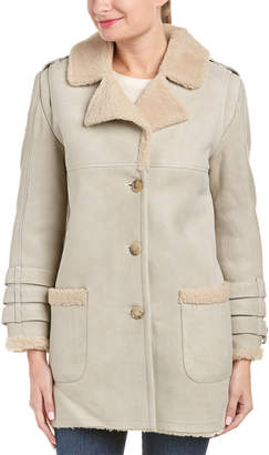 Anine Bing Shearling Coat