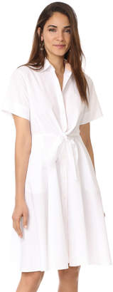 Diane von Furstenberg Collared Shirtdress $348 thestylecure.com