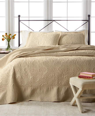 Martha Stewart Collection Closeout! Collection Lush Embroidery Full Bedspread