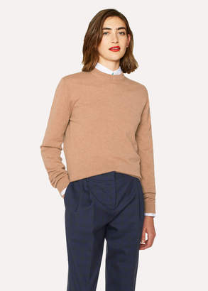 Paul Smith Women's Camel Cashmere Sweater