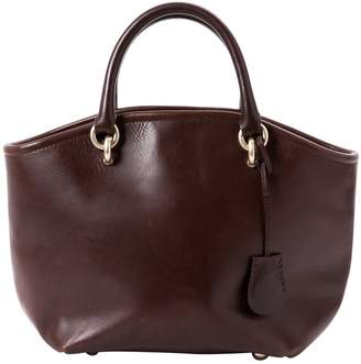 Vanessa Bruno Box leather handbag