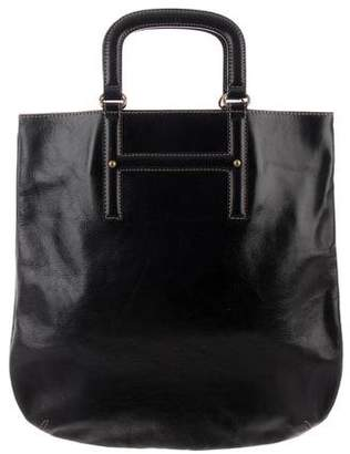 Barneys New York Barney's New York Grain Leather Tote