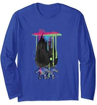 Classic Trolls: 2 Trolls Dripping Paint Long Sleeved T-Shirt