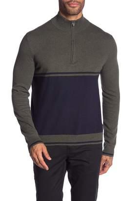 Calvin Klein Cotton Cashmere Colorblock Sweater