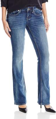 7 For All Mankind Seven7 Women's Boot Cut Jean with Double Seven Back Pocket Detail
