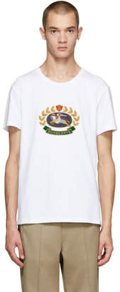 Burberry White Gully T-Shirt