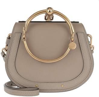 Chloé Small Nile Bracelet Bag Motty Grey