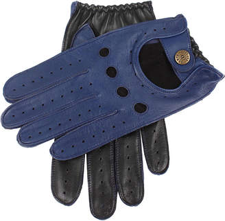 Dents Waverley two-tone leather driving gloves