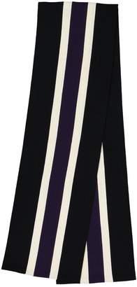 Mulberry Black Wool Scarves & pocket squares