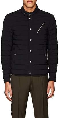 Moncler Men's Nestor Down-Quilted Moto Jacket