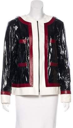 Chanel 2016 Paris-Rome Lambskin Jacket